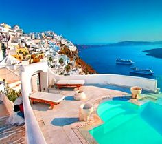 Hoping this will be our next overseas holiday. Santorini, Greece