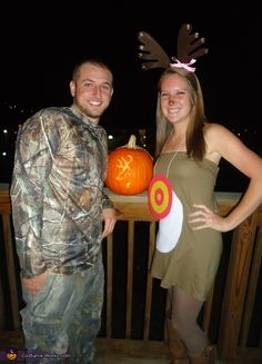 The Deer and the Hunter -...Steve would so do this..I would make a cuter version of a deer costume