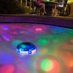 Glow In The Dark Swimming Pool Tiles Swimming Pool Glowing Accents Fences Tiles Pinterest