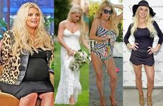 Jessica Simpson's 70 pound weight loss secrets: Low carb sugar free diet and yoga workouts