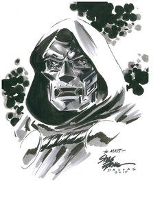 Dr. Doom by Steve Epting