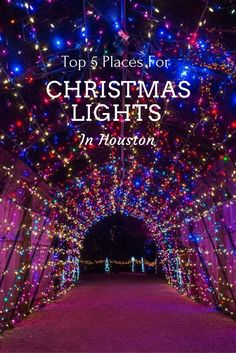 Where to find the BEST Christmas Lights in Houston, Texas | Houston Christmas Light Display | Best Neighborhoods for Christmas in Houston | Houston in December | Houston Zoo Lights