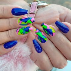 Bright Neon Colors For Coffin Nails ❤ Perfect Coffin Acrylic Nails Designs To Sport This Season ❤ See more ideas on our blog!! #naildesignsjournal #nails #nailart #naildesigns #coffinnails #ballerinanails #coffinacrylicnails Classy Acrylic Nails, Exotic Art, Coffin Shape Nails, Ballerina Nails, Nude Color, Acrylic Nail Designs, Neon Colors, Nail Inspo, Nail Tips
