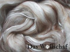 feiner Merinokammzug mit Alpaca, Maulbeerseide und Babykamel - Tierische Fasern - Das Wollschaf (natürlich & kreativ)