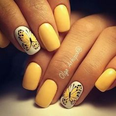 Yellow is sunny, warm and beautiful. Many women would love to experiment with yellow nail art. However there are times when you might just not know how to go about painting your nails yellow without looking too awkward.