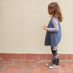 Adorable smock by Trula.