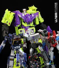 Transformers Combiner Wars Constructicons/Devastator (Part 1) | TF-Prototype