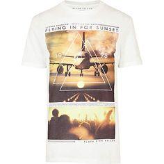 flying for sunset t-shirt