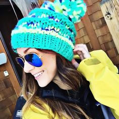 "@alyson_haley's photo: ""#skidayselfie // Yesterday at #KeystoneResort was a blast, but I'm excited to ski #Breck today! They have the best views! 
