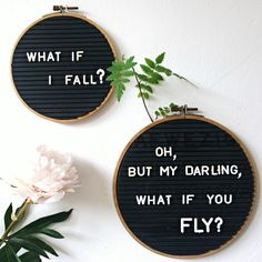 What if....... #diy #letterboard #embroideryring #embroideryhoops