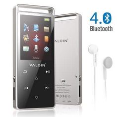 Valoin Valoin Player with Bluetooth Lossless Sound Music Player Multifunction Player with Pedometer for Walking,Support FM Radio Voice Recorder Brand : Valoin No need to go iTunes over and over just to sync music. Super Portable and High level Crafting. Mp3 Music Player, Mp4 Player, Bluetooth, Logitech Speakers, Voice Recorder, Digital Audio, Electronic Devices, Sound Music, Walking