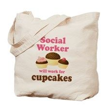 Funny Social Worker Tote Bag - Unique Gift Ideas for Social Workers (CafePress.com)