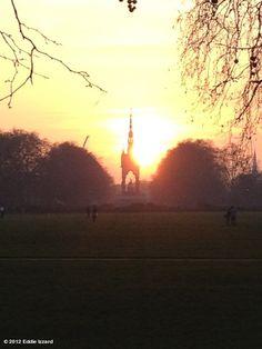 Albert memorial, Hyde Park, London