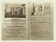 Finnish Adult Education Society - promotional calendar from 1905 (KVS) - photo by Teemu Ahlholm