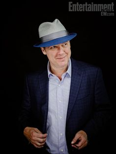James Spader - The Blacklist. Loved him in Boston Legal and I love him in The Blacklist!!