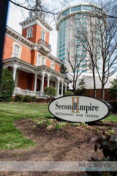 Second Empire weddings.  Downtown Raleigh.  Raleigh, NC weddings.  Neil Boyd Photography