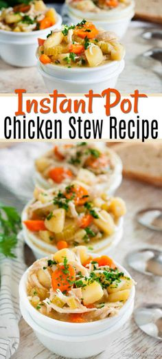 Instant Pot Chicken Stew Recipe