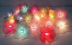 Garland Wedding, Decor Wedding, Wedding Decorations, Flower Crafts, Rose Buds, Fairy Lights, String Lights, Flower Decorations, Paper Flowers