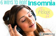 Sleep is a cornerstone to living healthy. If snoozing isn't an easy task for you, here are a few tips, without the sheep. via @SparkPeople