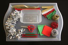 Christmas Cutting Tray (from Mama. Papa. Bubba.)