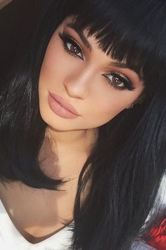 I really like the make up and hair cut!!! (from Kylie Jenner)