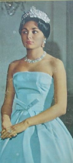 Queen Soraya wedding - Shah of Iran | Royalty and Muses | Pinterest ...