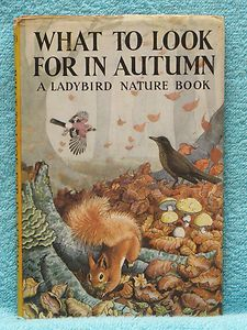 Vintage Ladybird nature books