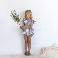 Olle Romper + Wilfred Sandals // pre-order Friday 4th.  @the_loved_ones #yoliandotis #ministyle / Yoli and Otis / Baby Swoon <3