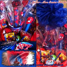 Spider man easter basket w paddle ball story book puzzle to go spider man easter basket deliciouschocolateforever negle Images