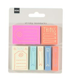 7-pack sticky bookmarks – HEMA