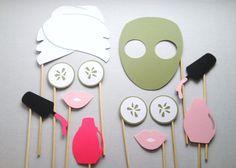 spa birthday party craft ideas