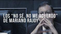 """El Presidente del Gobierno, Mariano Rajoy """"no sé, no me acuerdo"""" #Gurtel  http://www.ledestv.com/es/noticias/actualidad-politica/video/los-%C2%B4no-se-no-me-acuerdo%C2%B4-de-rajoy-durante-el-juicio-de-la-g%C3%BCrtel/3742  #ExcusasParaMariano #SiNosConsta"""