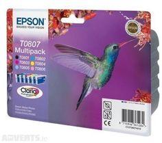 Genuine/Original Epson T0807 Hummingbird Multipack Claria Ink (6 Pk) Exp Feb 19   eBay #ebay