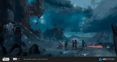 ArtStation - ILM Art Department Challenge - The job , Pablo Dominguez