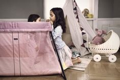 We are thrilled to reveal two new colors of the bestselling Babybjorn Travel Crib in a Right Start exclusive launch! Co Sleeper, Baby Bjorn, Nursery Room, Girl Room, Cribs, Playroom, Toddler Bed, Product Launch, Travel Cots