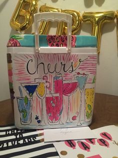 lilly pulitzer cheers cooler cocktails                                                                                                                                                                                 More
