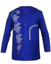 Vêtements africain Dashiki chemise africaine tenue des African Dresses Men, African Clothing For Men, African Shirts, African Attire, African Wear, Nigerian Men Fashion, African Men Fashion, Africa Fashion, Butch Fashion