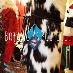 Maverick Boot Rugs via Bojangles Boutique. Click on the image to see more!