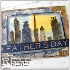 Guest Designer Audrey Pettit shares with us how she crafted this cityscape card using Tim Holtz Distress® products just in time for Father's Day! Find Audrey's tutorial in our Projects …