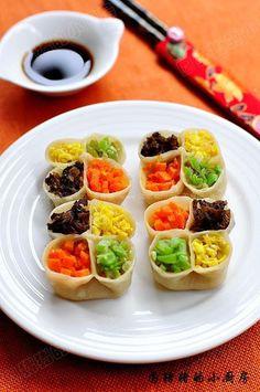 四喜饺子(春节食谱)