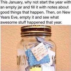 Since our anniversary is on New Years, this would be really cute to do with stories about each other. :) ❤️