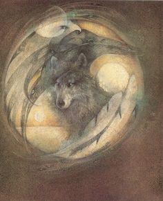 Raven Wolf - Susan Seddon Boulet