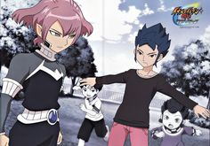 /Inazuma Eleven GO/#1205476 - Zerochan - Alpha and Yuichi; probably my two favourite Go characters!