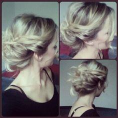 tuto chignon romantique Retrouvez tous mes tutos sur ma page facebook : Angelia hairstyle addict