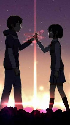 Anime Couples Lee taki y mitsuha de la historia kimi no na wa por (Sanae Nakasawa) con 586 lecturas. dibujos, anime, k. - Read taki y mitsuha from the story kimi no na wa by (Sanae Nakasawa) with reads. Anime Triste, Cosplay Anime, Otaku Anime, Manga Anime, Kawaii Anime, Kawaii Art, Top Anime Series, Mitsuha And Taki, Kimi No Na Wa Wallpaper