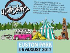 VW Whitenoise is all about the motors, music and fantastical stuff for the littlies back at Euston Estate 3rd-6th August, near Bury St Edmunds