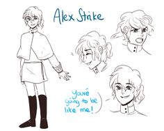 Alex by misterpoof