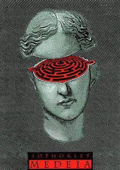 Pour l'homme, la psychologie féminine est un vrai labyrinthe... / By Istvan Orosz.