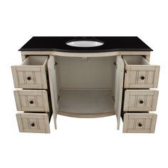 Bathroom Vanities Nashville Tn stylish double sink vanity with black wooden base open storage