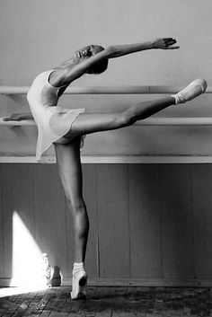 """""""Why lift your leg, unless you can do it beautifully."""" George Balanchine"""